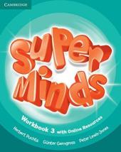 Super Minds Level 3 Workbook with Online Resources - фото обкладинки книги