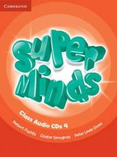 Super Minds Level 4 Class Audio CDs (4) - фото обкладинки книги
