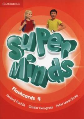 Super Minds Level 4 Flashcards (Pack of 89) - фото книги