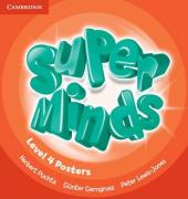 Super Minds Level 4 Posters (10) - фото обкладинки книги
