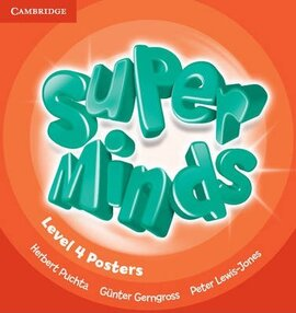 Super Minds Level 4 Posters (10) - фото книги