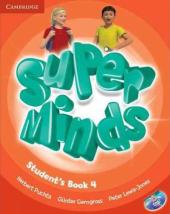 Super Minds Level 4 Student's Book with DVD-ROM - фото обкладинки книги