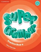 Super Minds Level 4 Super Grammar Book - фото обкладинки книги