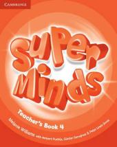 Super Minds Level 4 Teacher's Book - фото обкладинки книги