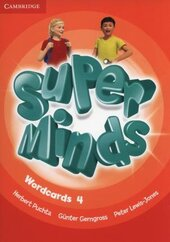 Super Minds Level 4 Wordcards (Pack of 89) - фото обкладинки книги