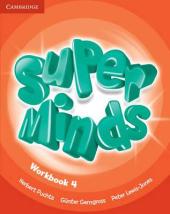 Super Minds Level 4 Workbook - фото обкладинки книги