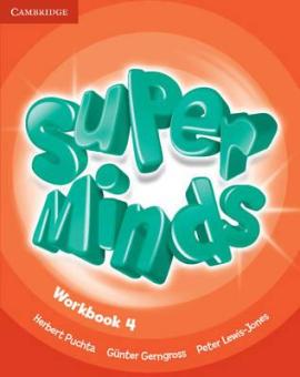 Super Minds Level 4 Workbook - фото книги