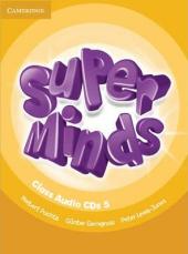 Super Minds Level 5 Class CDs (4) - фото обкладинки книги