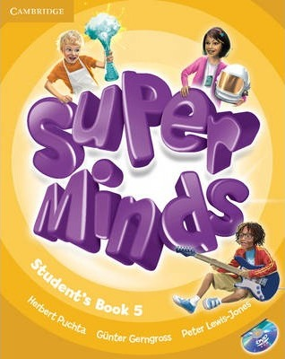 Підручник Super Minds Level 5 Student's Book with DVD-ROM