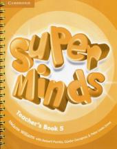 Super Minds Level 5 Teacher's Book - фото обкладинки книги