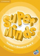 Книга для вчителя Super Minds Level 5 Teacher's Resource Book with Audio CD