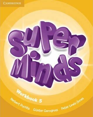 Робочий зошит Super Minds Level 5 Workbook