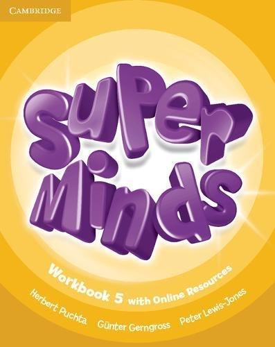 Робочий зошит Super Minds Level 5 Workbook with Online Resources