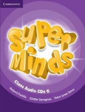 Super Minds Level 6 Class CDs (4) - фото обкладинки книги