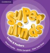 Super Minds Level 6 Posters (10) - фото обкладинки книги