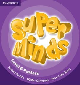Super Minds Level 6 Posters (10) - фото книги