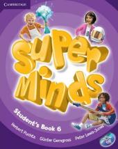 Super Minds Level 6 Student's Book with DVD-ROM - фото обкладинки книги