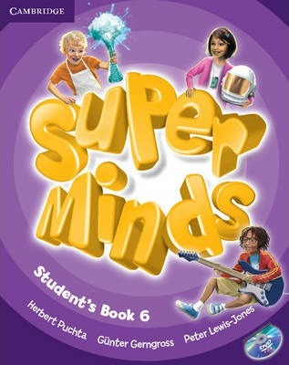 Підручник Super Minds Level 6 Student's Book with DVD-ROM