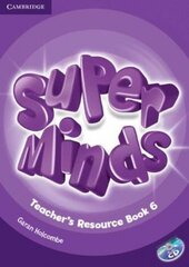 Книга для вчителя Super Minds Level 6 Teacher's Resource Book with Audio CD