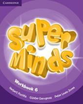 Super Minds Level 6 Workbook - фото обкладинки книги