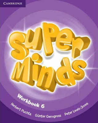 Робочий зошит Super Minds Level 6 Workbook