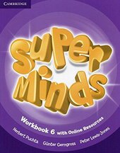 Підручник Super Minds Level 6 Workbook with Online Resources