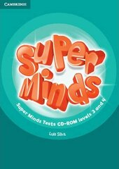 Посібник Super Minds Levels 3 and 4 Tests CD-ROM
