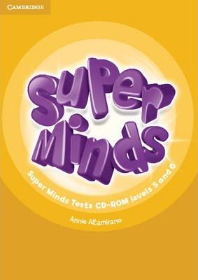 Аудіодиск Super Minds Levels 5 and 6 Tests CD-ROM
