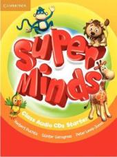Super Minds Starter Class Audio CDs (2) - фото обкладинки книги