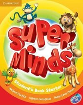 Super Minds Starter Student's Book with DVD-ROM including Lessons Plus for Ukraine - фото обкладинки книги