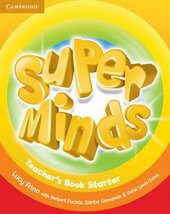Super Minds Starter Teacher's Book - фото обкладинки книги