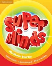 Super Minds Starter Workbook - фото обкладинки книги