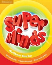 Підручник Super Minds Starter Workbook