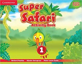Super Safari Level 1 Activity Book - фото книги