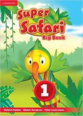 Super Safari Level 1 Big Book - фото обкладинки книги