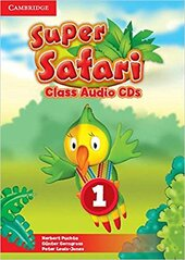 Посібник Super Safari Level 1 Class Audio CDs