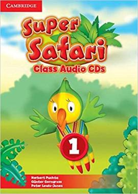 Аудіодиск Super Safari Level 1 Class Audio CDs