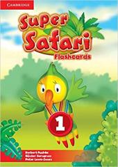Super Safari Level 1 Flashcards (Pack of 40) - фото обкладинки книги