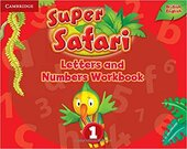 Super Safari Level 1 Letters and Numbers Workbook - фото обкладинки книги