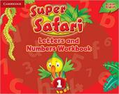 Super Safari Level 1 Letters and Numbers Workbook - фото обкладинки книги