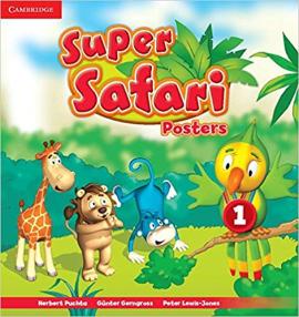 Super Safari Level 1 Posters - фото книги