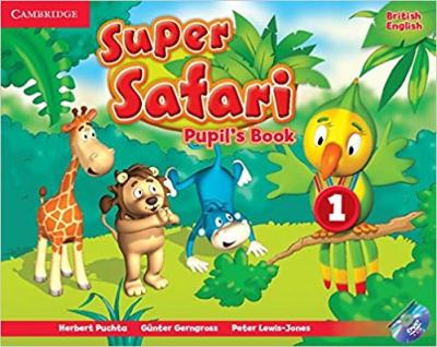 Підручник Super Safari Level 1 Pupil's Book with DVD-ROM
