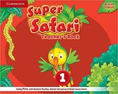 Super Safari Level 1 Teacher's Book - фото обкладинки книги