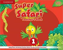 Книга для вчителя Super Safari Level 1 Teacher's Book