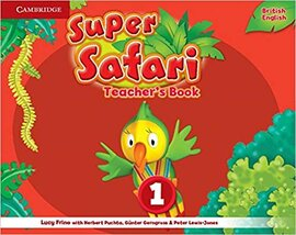 Книга для вчителя Super Safari Level 1 Teacher's Book