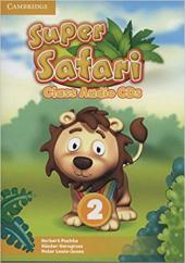Super Safari Level 2 Class Audio CDs (2) - фото обкладинки книги