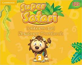 Super Safari Level 2 Letters and Numbers Workbook - фото книги