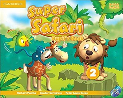 Підручник Super Safari Level 2 Pupil's Book with DVD-ROM