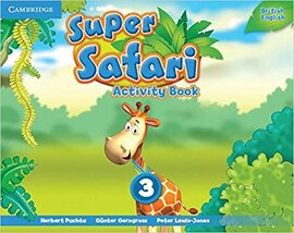 Посібник Super Safari Level 3 Activity Book