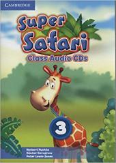 Super Safari Level 3 Class Audio CDs (2) - фото обкладинки книги